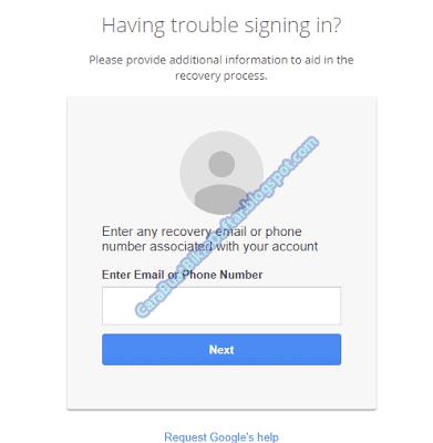 Panduan cara mengembalikan akun gmail yang lupa username