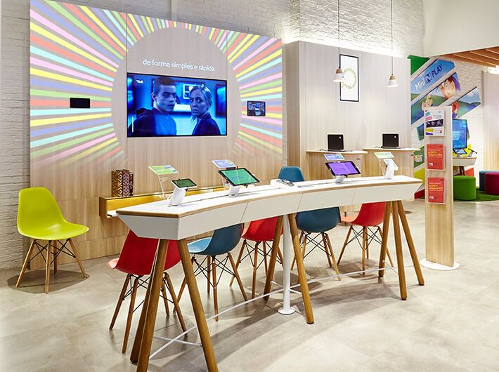 Retail Design And Brand Identity Project For Nos Retail Design Retail Store Design Retail Interior