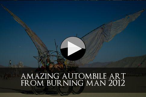automobile art at Burning Man