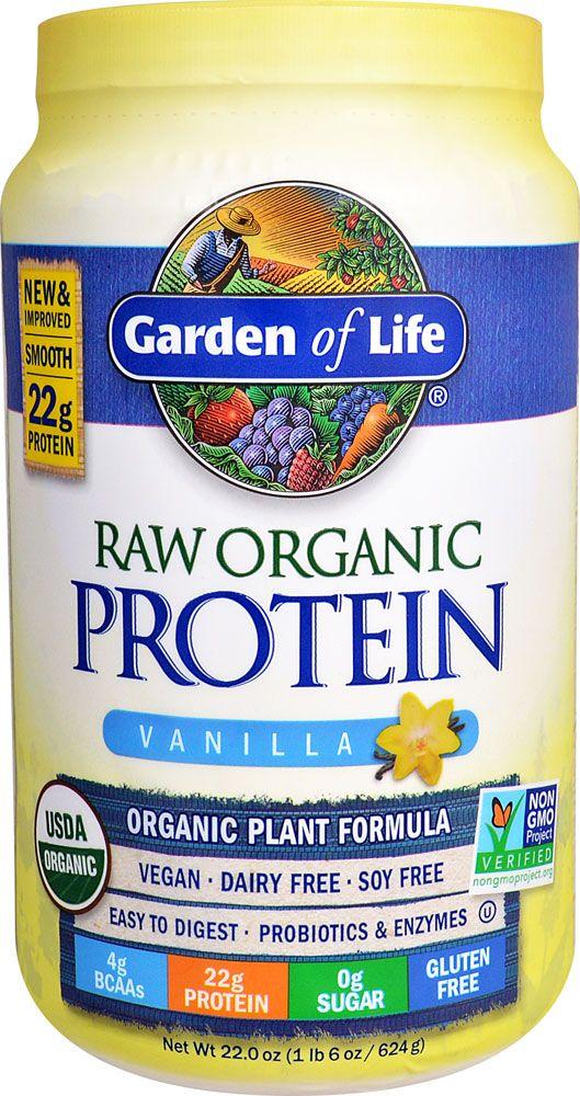 Garden of Life RAW Organic Protein Plant Formula Vanilla