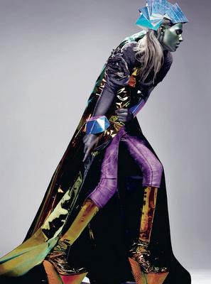 Standard Deviation - Fashion. Design. Culture. Art. Myko.: Gold Digger: Dazed & Confused April 2011 Editorial