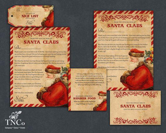 Santa letter printable santa claus letter reindeer food bag santa santa letter printable santa claus letter reindeer food bag spiritdancerdesigns Choice Image