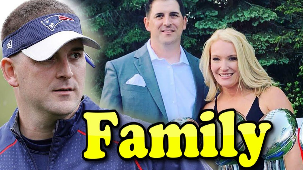 Joe Judge Family With Children and Wife Amber Meesey 2020