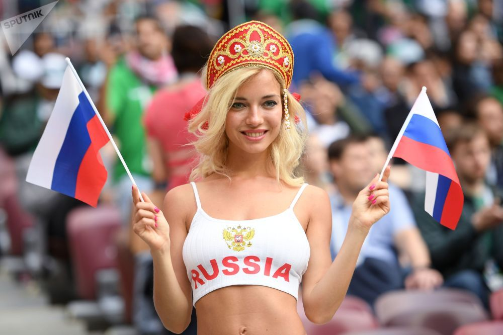 Hot Support Most Beautiful Female Fans At Fifa World Cup 2018