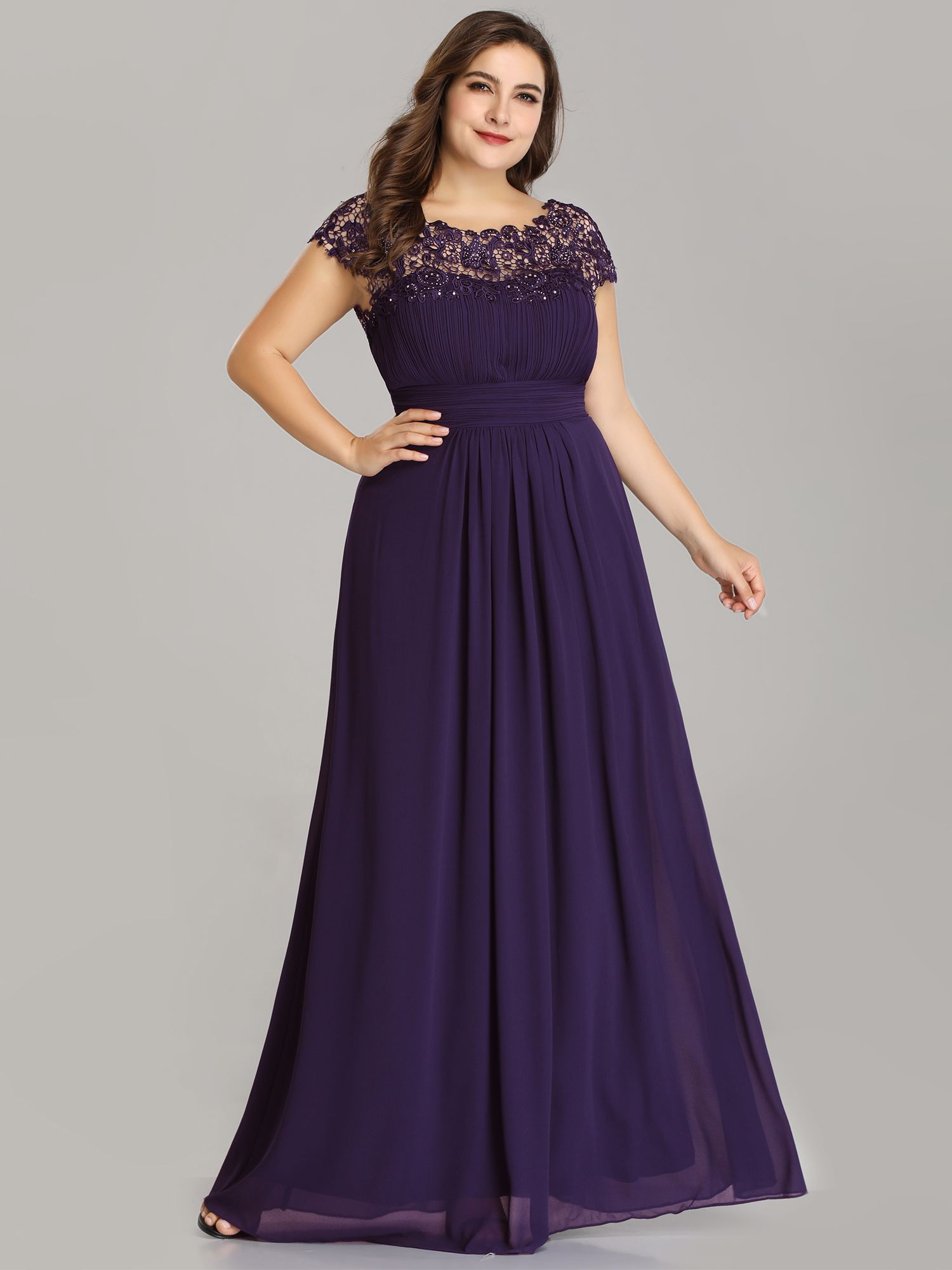 Ever Pretty Ever Pretty Womens Ruched Mother Of The Bride Dresses For Guest 99933 Dark Purple Us18 Walmart Com In 2021 Cute Lace Dresses Plus Size Evening Gown Chiffon Evening Dresses [ 2000 x 1500 Pixel ]