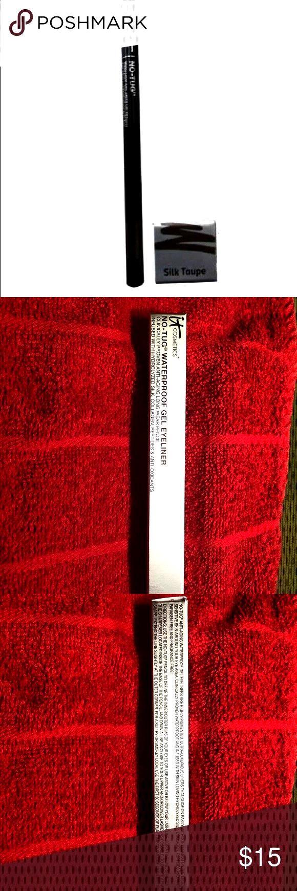 No-tug Waterproof Anti-aging Gel Liner- black It No-tug Waterproof Anti-aging Gel Liner- black See