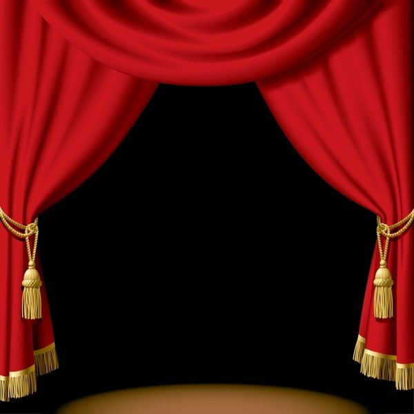curtains ideas red theater curtains stage curtain clipart red