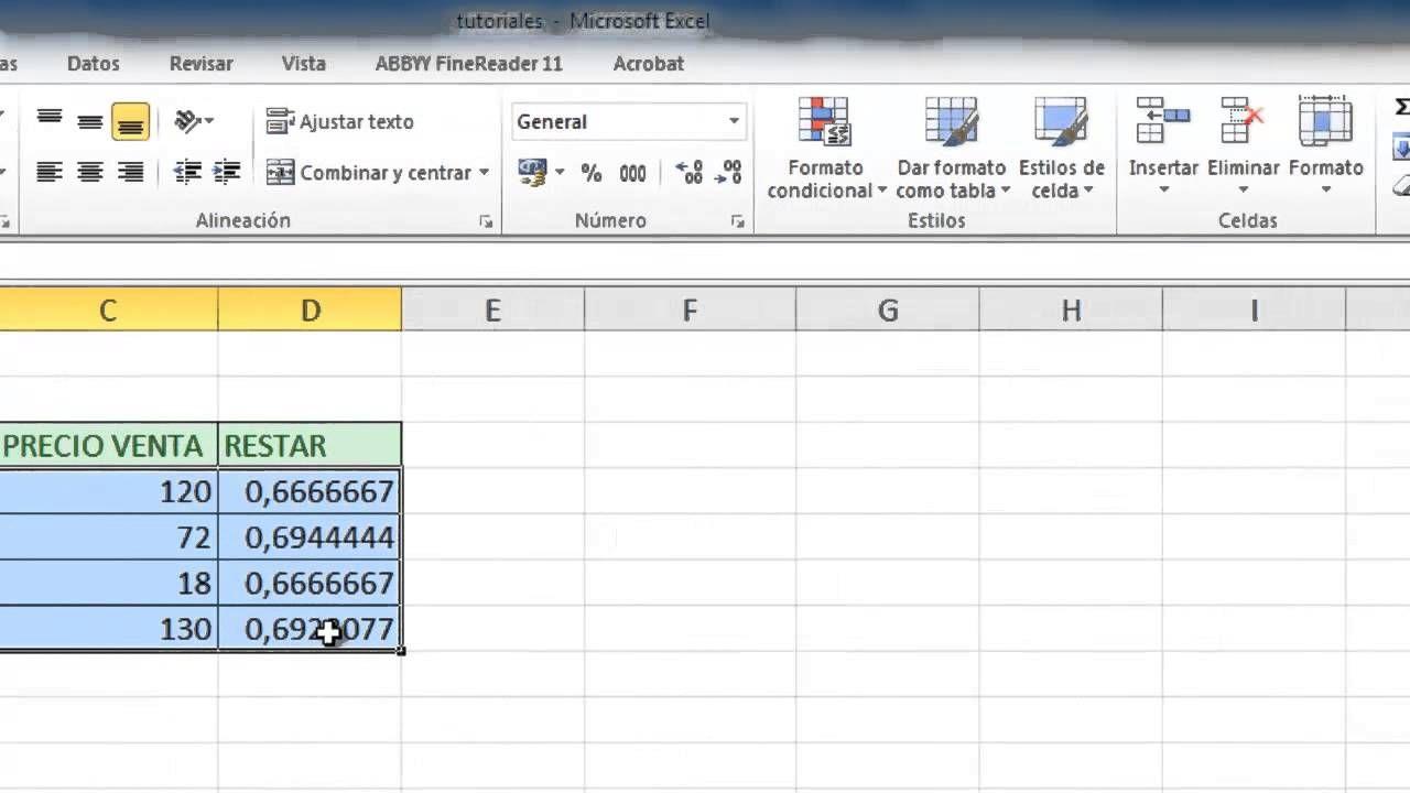 Estilos De Celdas En Excel Hojas De Cálculo Microsoft Excel Estilos
