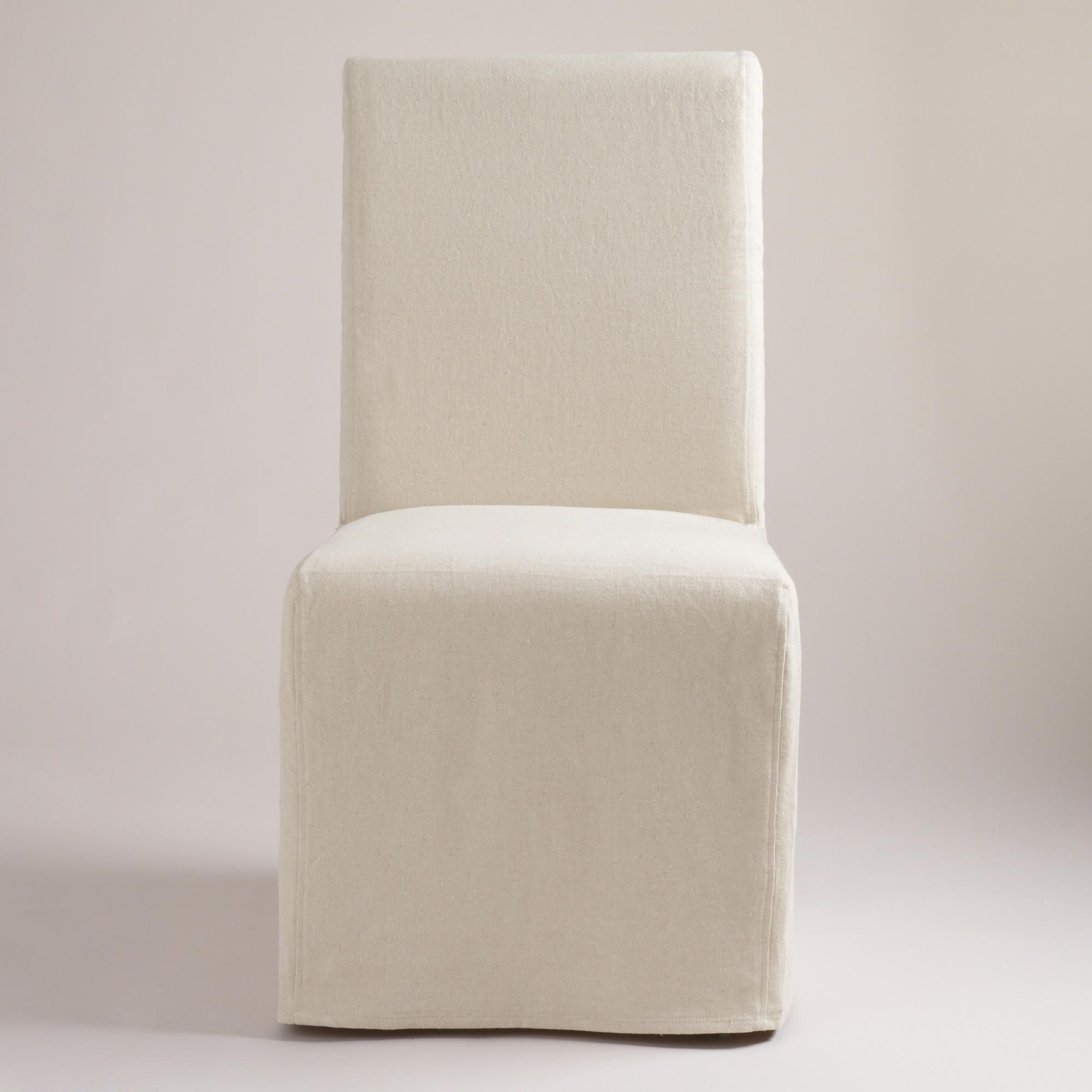 world market anna chair modern table and chairs linen long slipcovers set of 2