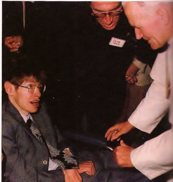 Image result for pope john paul II stephen hawking