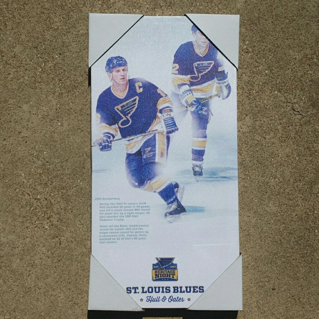 St louis blues hockey canvas st louis blues canvases and size