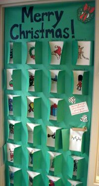 classroom doors decorations ideas | Decorated Doors #halloweenclassroomdoor