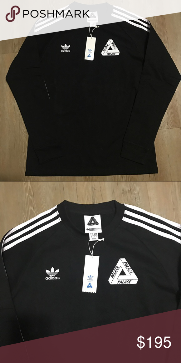 bddb2972 Adidas X Palace Long Sleeve shirt size Large supre Brand new 100% authentic  with tags. Size Large Shirts Tees - Long Sleeve