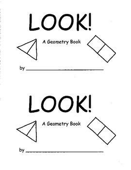 Kindergarten Geometry K.G.6 Reproducible Book Combining