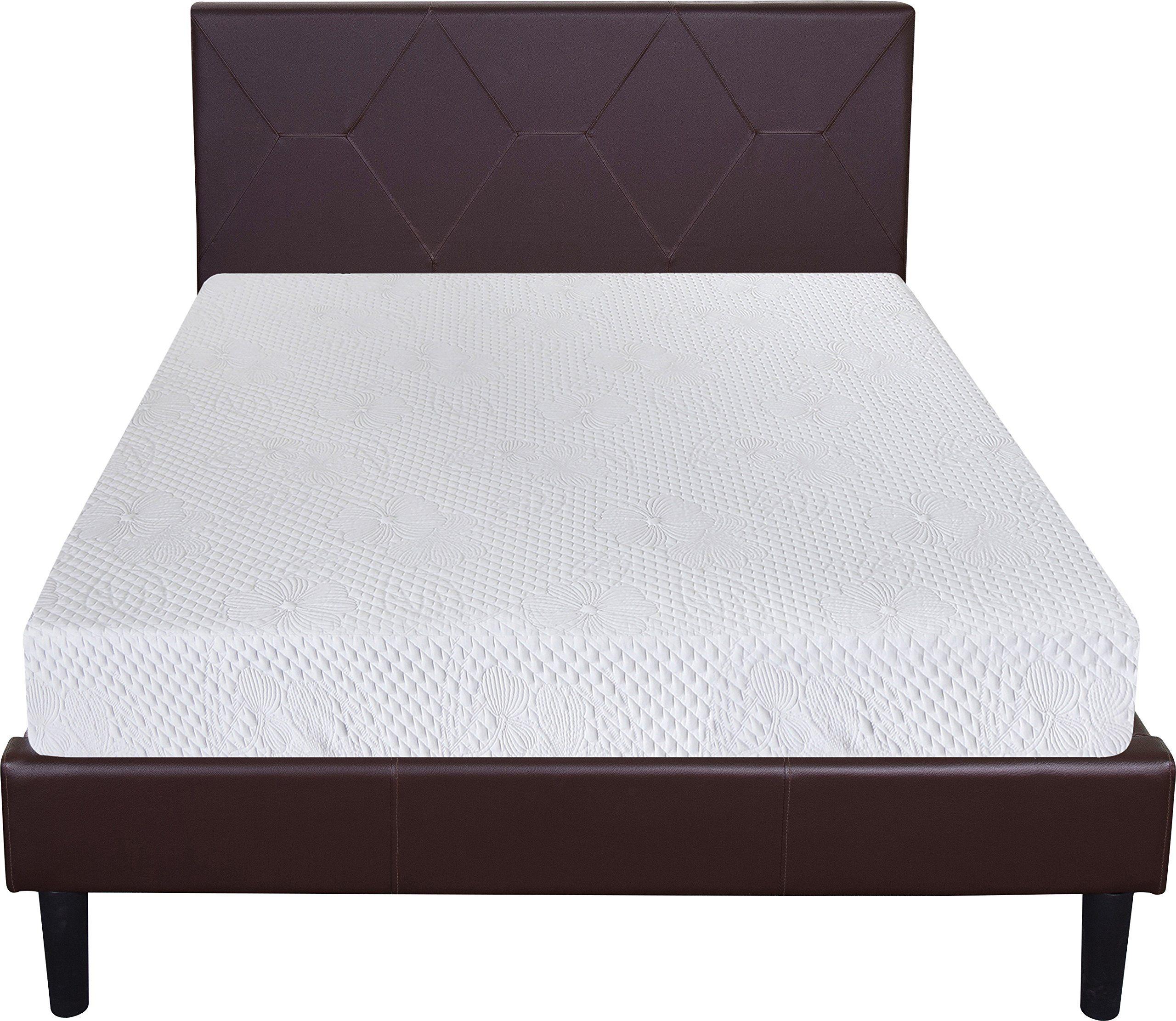 Olee Sleep 8 Inches Ventilated Convolution Memory Foam Mattress (Twin XL)