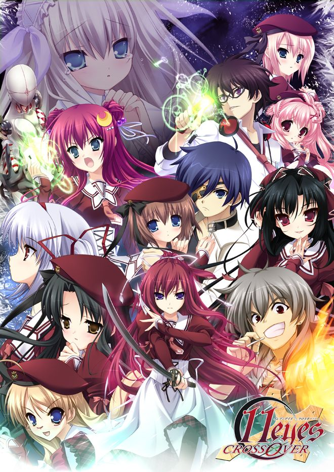 Day 10 Favorite Fighter Anime 11eyes Con Imagenes Personajes