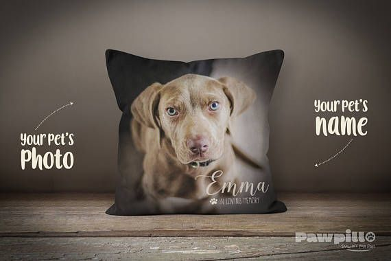 pet loss pillow dog remembrance pet