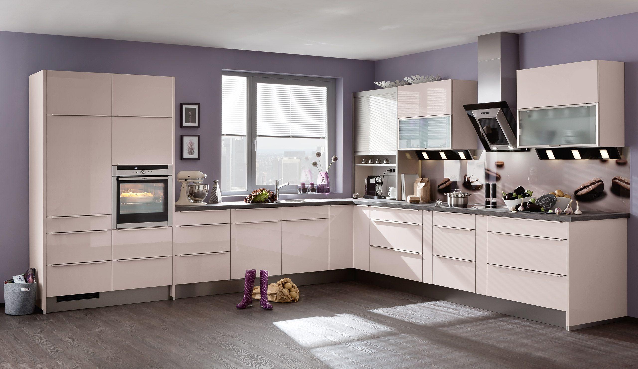 Einbauküche Vila Kaschmir Hochglanz Einbauküche, Küchen