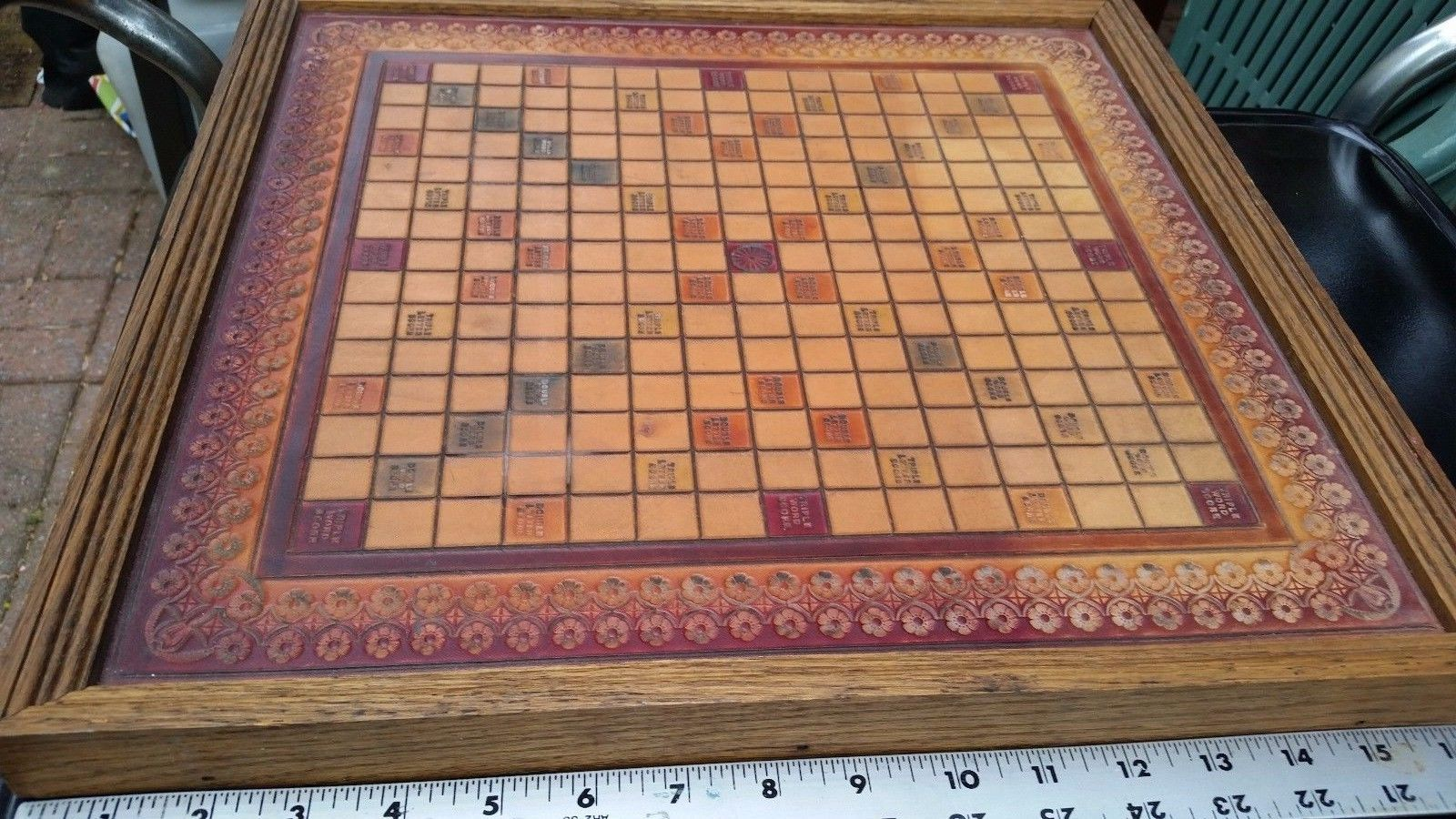 Dating scrabble boards wooden