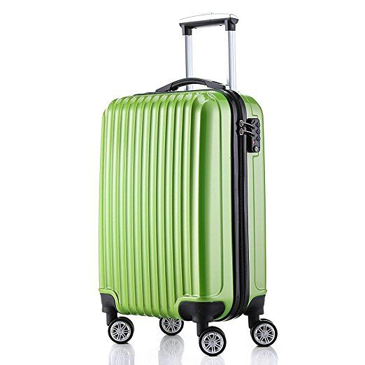 7ac5265b14a1 Fochier Carry On Luggage 20 Inch Hardside Spinner 4 Double Wheels ...