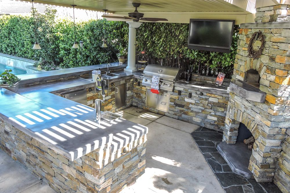 Recent Outdoor Kitchen Projects Sacramento Quality Family Time Outdoor Kitchen Countertops Outdoor Kitchen Painting Kitchen Countertops