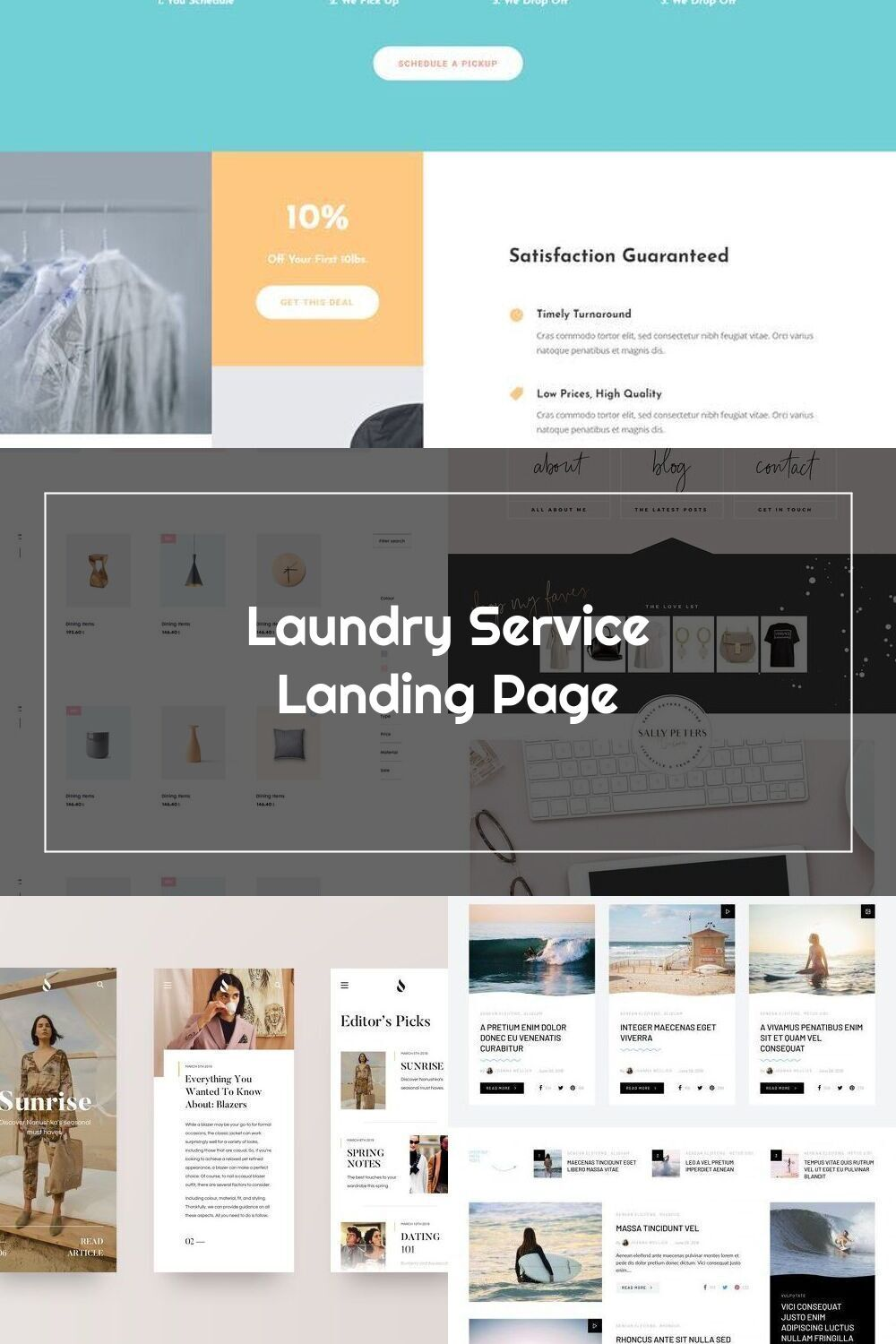 The Laundry Service Layout Pack Offers You The Ability To Create