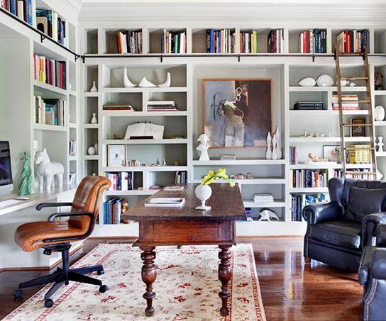 Tips for Arranging, Organizing, and Decorating Bookshelves - bibliotecas modernas en casa