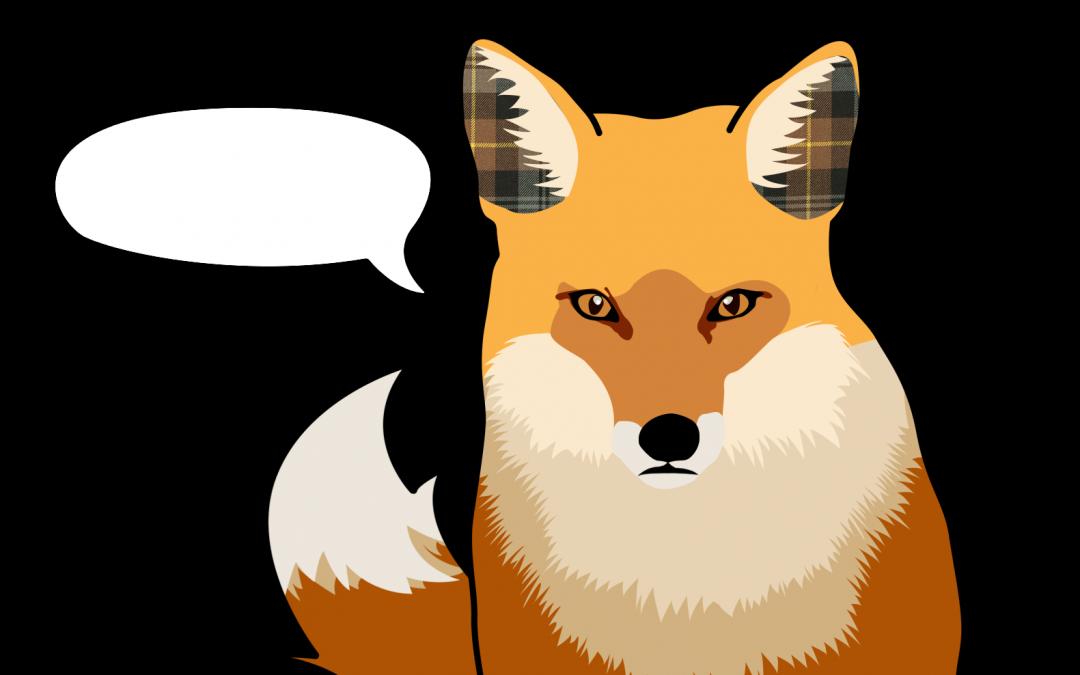 What Does The Fox Say Life Is Plaid Plaid Oak Weird Songs Weird Gif Fox