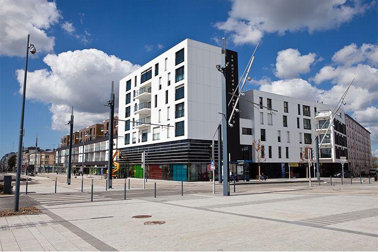 ensemble immobilier le parc de strasbourg brest 29 architectes guy fauvet collectif. Black Bedroom Furniture Sets. Home Design Ideas