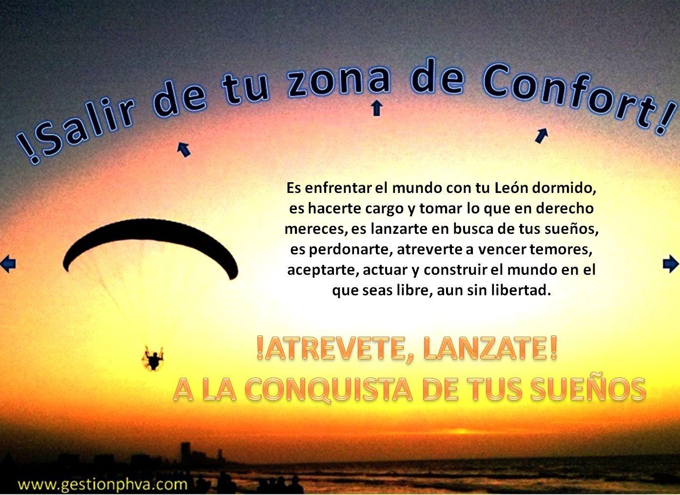 Salir de la Zona de Confort\