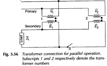 Parallel Operation Of Transformer Transformers Parallel Operator