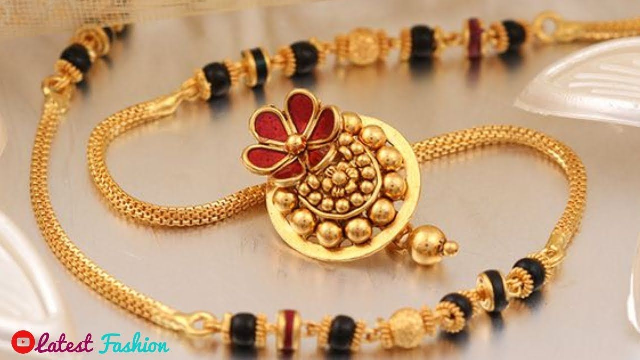 Latest Gold Mangalsutra Designs 2019 Latest Fashion