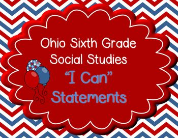 Ohio 6th Grade Social Studies