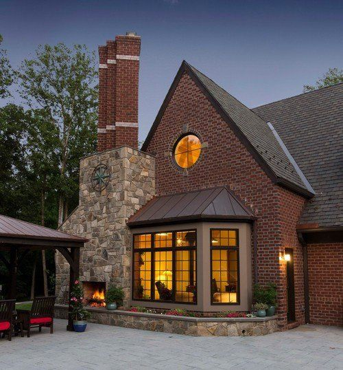 Beautiful Cozy Homes: Beautiful Brick Homes: From Stately To CozyBeautiful Brick