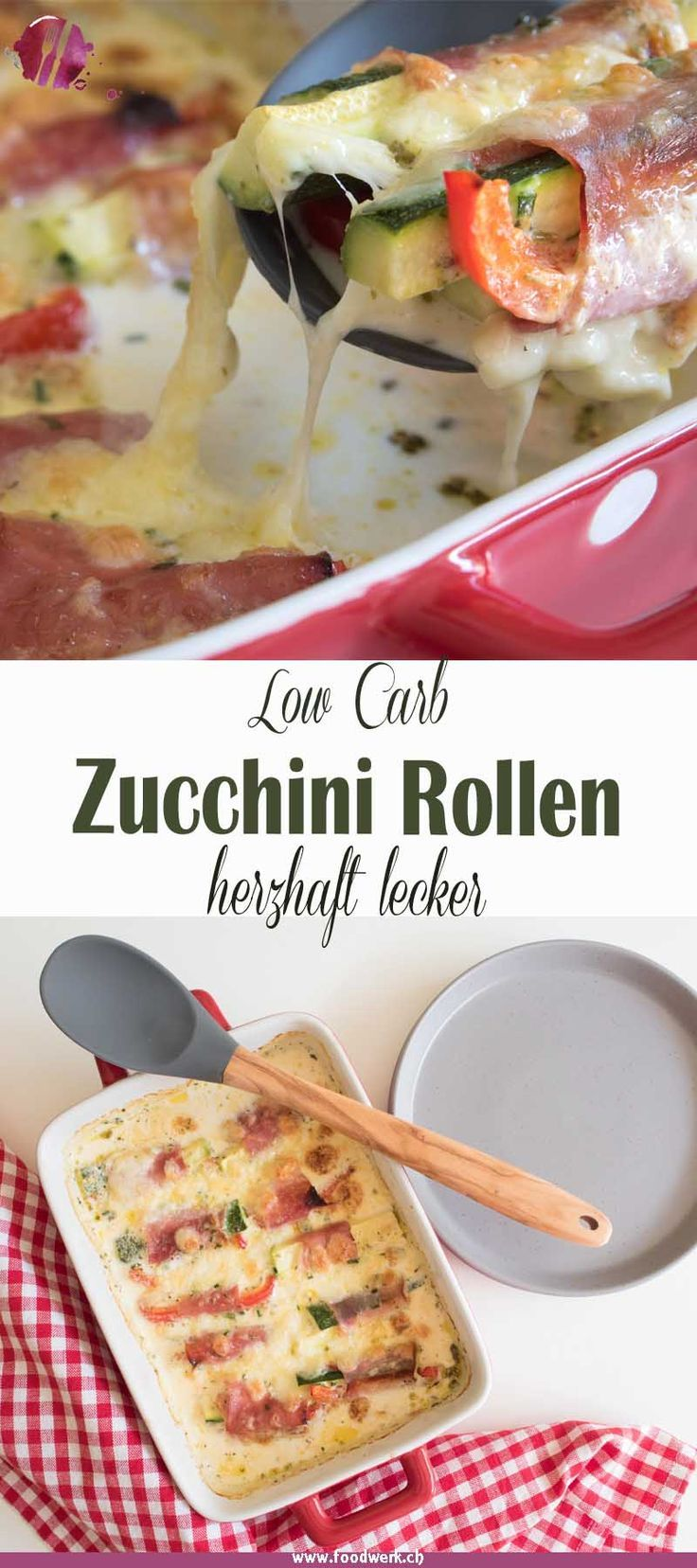 Photo of Baked zucchini rolls low carb | Food Blog Switzerland | foodwerk.ch