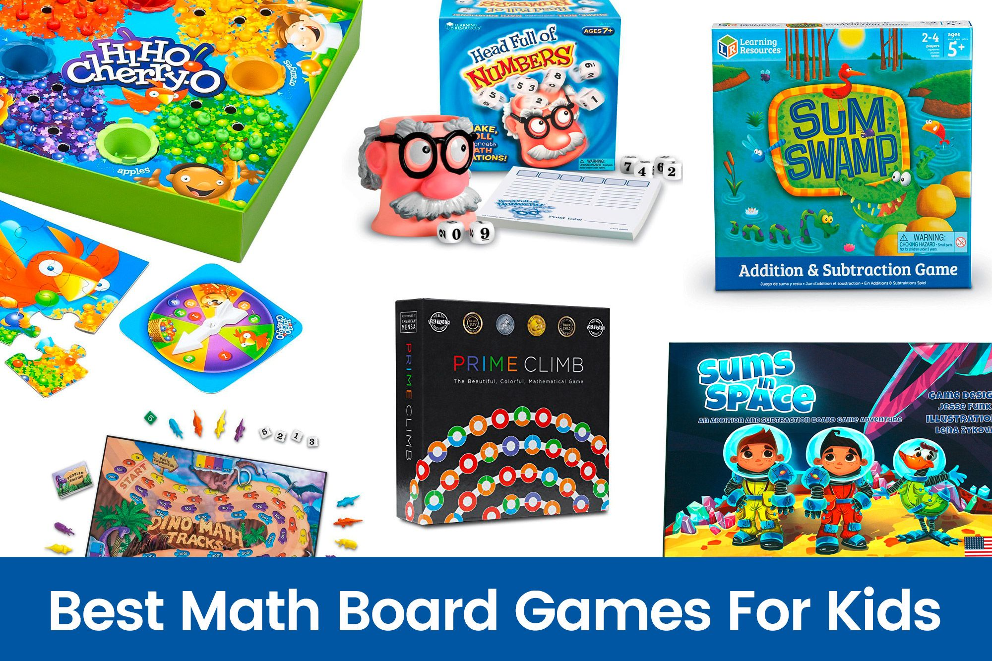 Best Math Board Games For Kids Tech Toys for Kids