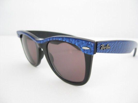 ed6ab04a25 VINTAGE STREET NEAT 80s RAY BAN WAYFARER Sunglasses Frames
