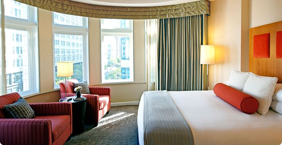 Hotel For San Francisco Corner Room Overlooks Market Street And Cable Cars
