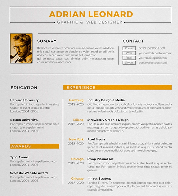Doc Pdf Free Premium Templates In 2020 Resume Design Interior Design Resume Template Creative Resume Template Layout