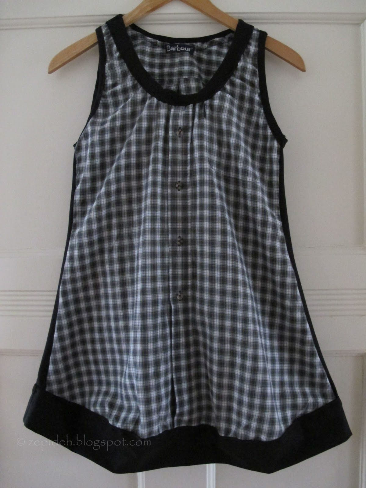 17 Best images about Kleider on Pinterest | Flannel tunic, Diy dress ...