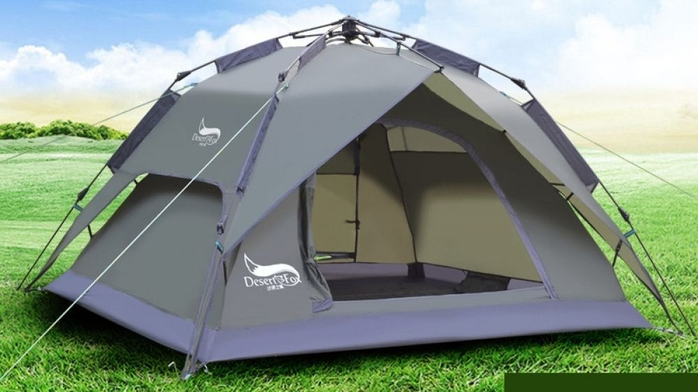DesertFox Outdoor 3 4 People Tent (With images) | Family