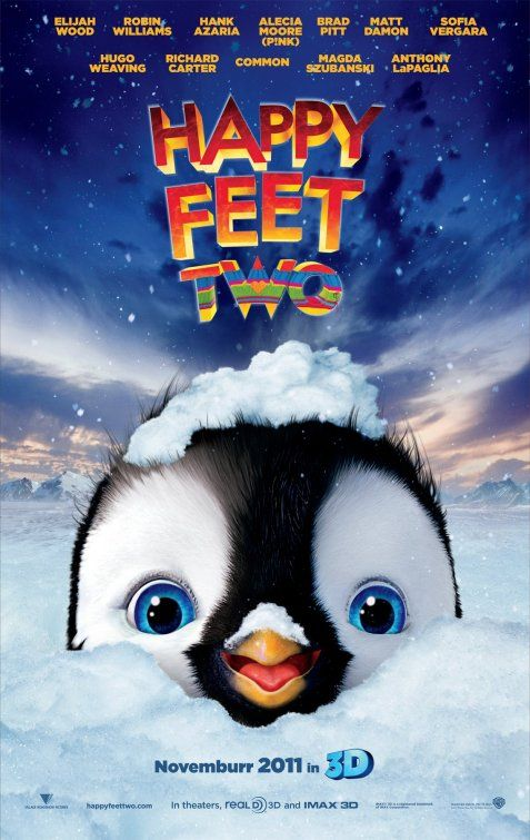 Inspiracao Cartazes De Cinema Happy Feet Two Happy Feet 2 O