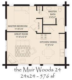 Image Result For 20 X 24 Floor Plan Cabin Floor Plans House Floor Plans Tiny House Floor Plans