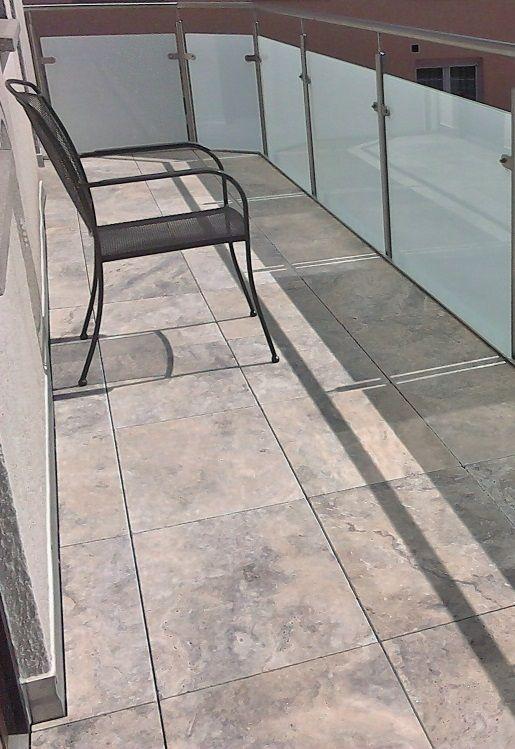 Travertin Terrassenplatten travertin terrassenplatten in silver im format 60x90x3cm https