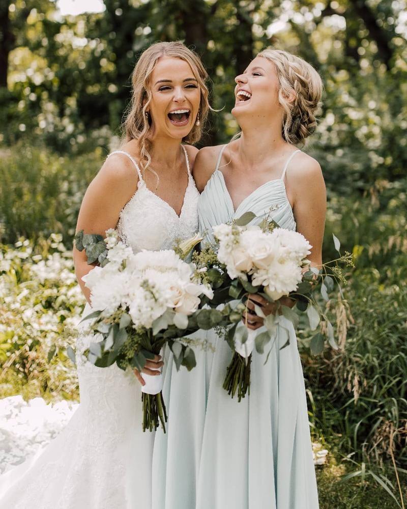 Sweet Friends Green Bridesmaid Dresses Summer Bridesmaid Dresses Affordable Bridesmaid Dresses [ 1000 x 800 Pixel ]