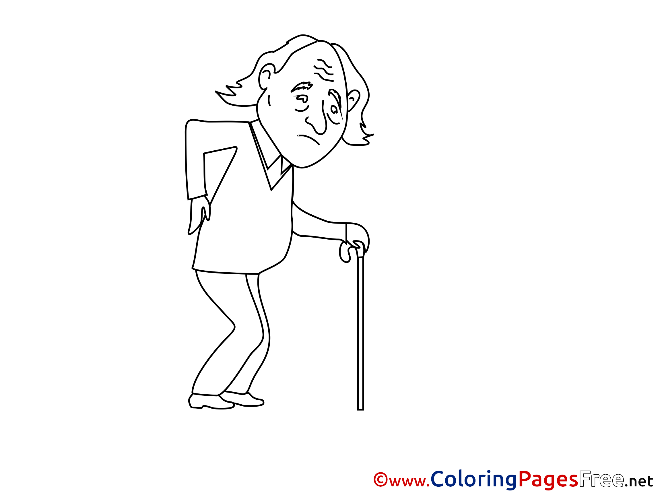Old Man Colouring Sheet Download Free Coloring Sheets Color Coloring Pages