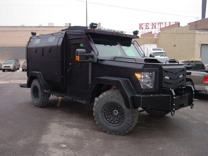 Heat Armor Swat Truck Armored Truck Police Truck Emergency