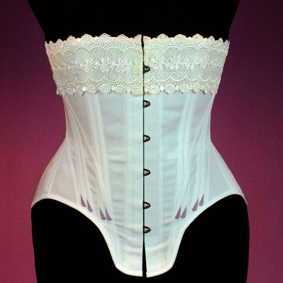 Edwardian Straigth Front Corset Sewing Pattern #1015 Size US 8-30 ...