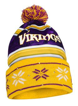 34f12b8e Vikings Light Up Knit Hat | Hats | Beanie, Minnesota Vikings, Vikings