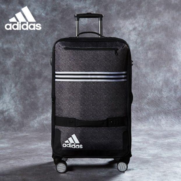 Adidas Luggage Large Size Travel Suitcase Bag Shoes Zipper ...